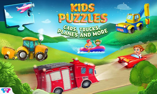 Kids Puzzles - cars more