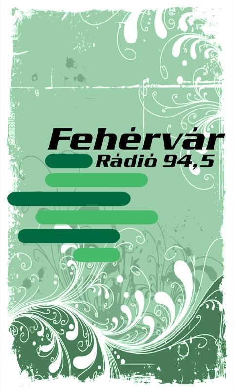 Fehérvár Rádió- screenshot