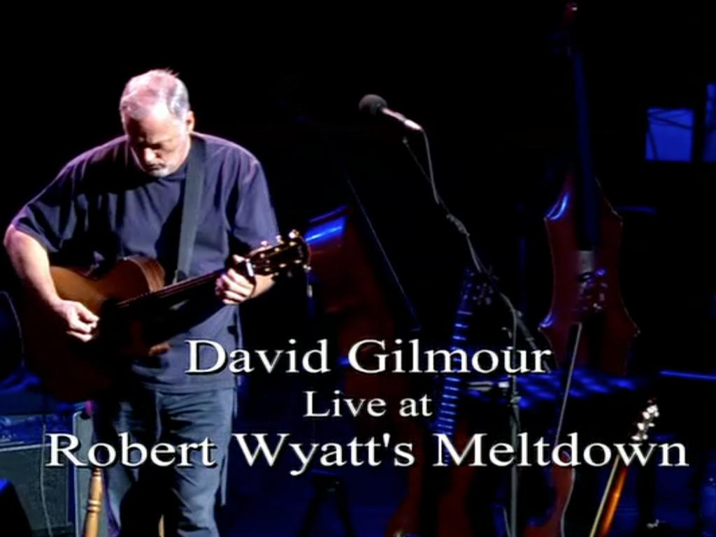 David Gilmour in Concert- screenshot