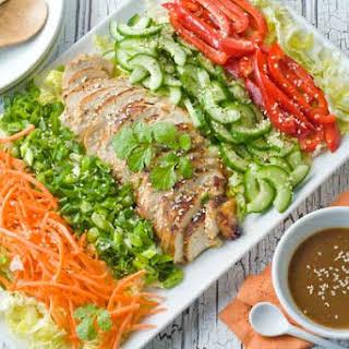 Gluten Free Asian Cobb Salad.