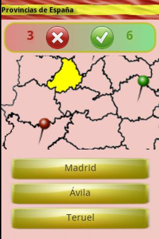 Learn the Provinces of Spain- screenshot
