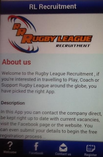 Rugby League Recruitment