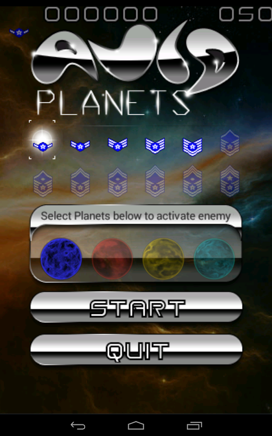 Avid Planets - Space Wars- screenshot
