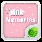 Pink Memories Keyboard Theme icon