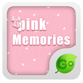 GOKeyboard Pink Memories theme