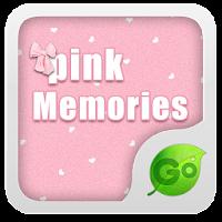GOKeyboard Pink Memories theme 1.65.20.60