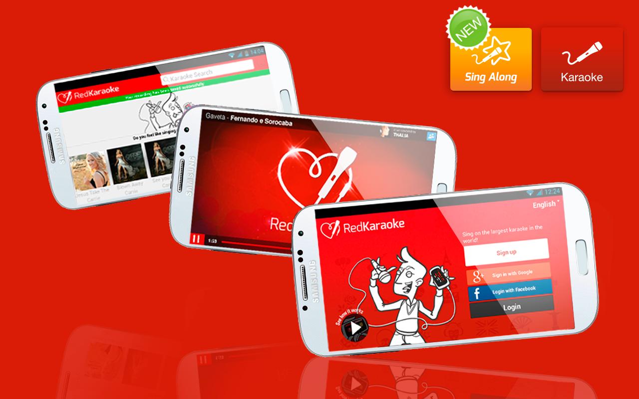 Karaoke gratis con RedKaraoke - screenshot