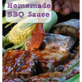 Homemade BBQ Sauce.