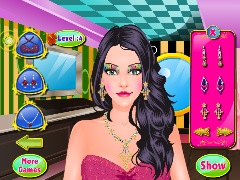 eyes spa girls games- screenshot