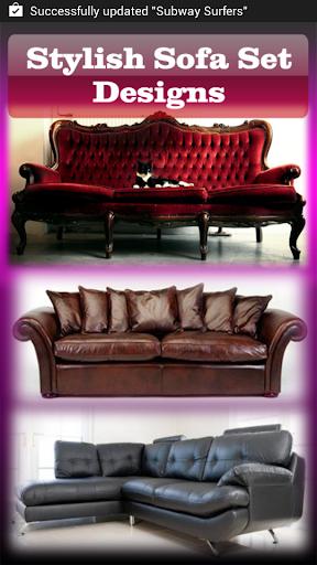 Stylish Sofa Set Designs