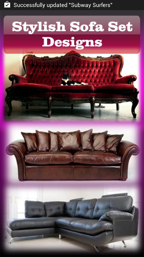 stylish sofa set designs - android apps on google play