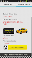 Screenshot of Taxi Coopebombas