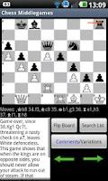 Screenshot of Chess Middlegames
