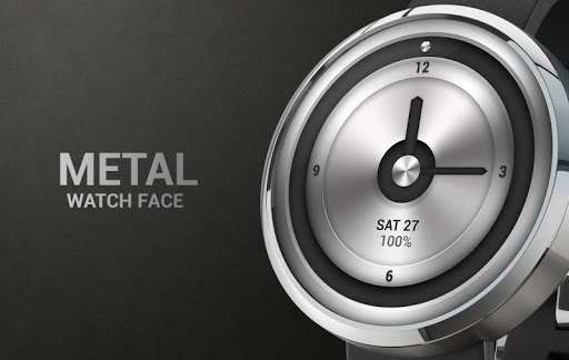 Metal Watch Face