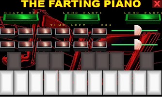Screenshot of Farting Piano Demo