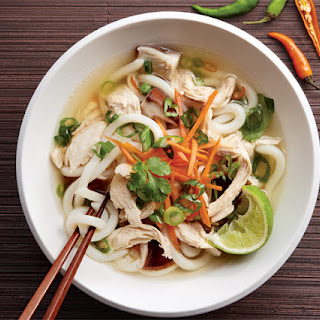 Chicken Noodle Soup with Lemongrass