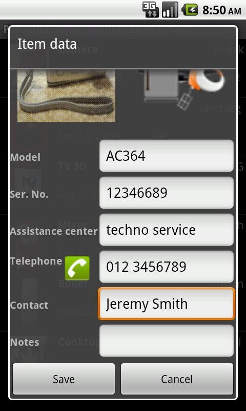Home Appliances Assistant Full- screenshot