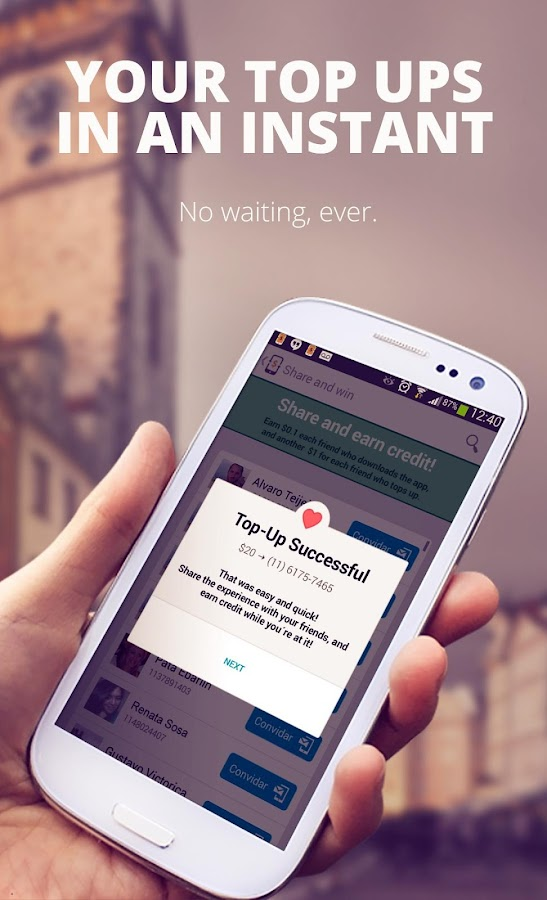 Recarga.com - screenshot