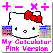 Cat Calculator Pink