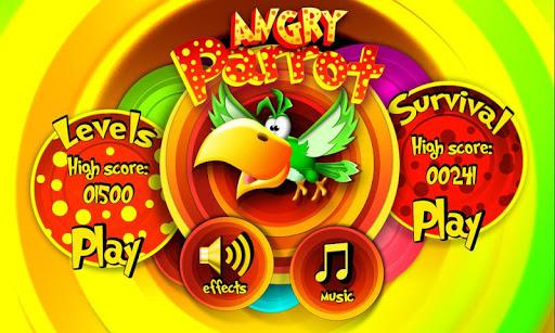 憤怒的鸚鵡 - Angry Parrot