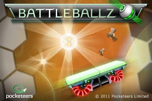 Screenshot of BattleBallz Chaos Lite