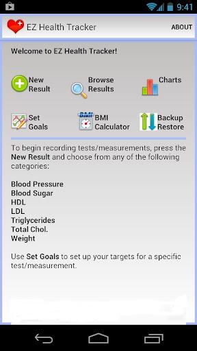 EZ Health Tracker