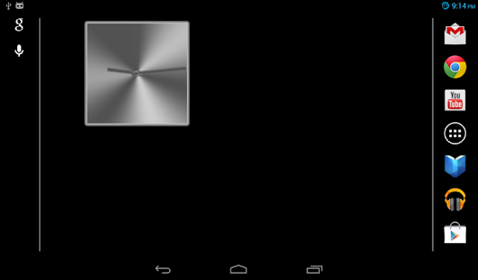 The NEW Metal Clock PRO (FREE)- screenshot thumbnail