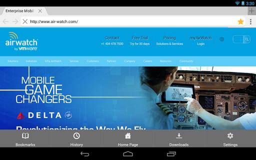 玩商業App|AirWatch Browser免費|APP試玩