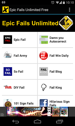 Epic Fails Unlimited Free