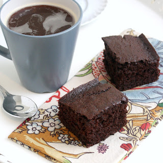 Coffee-Cocoa Snack Cake