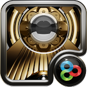 golden light GO Launcher EX