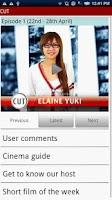 Screenshot of CUT