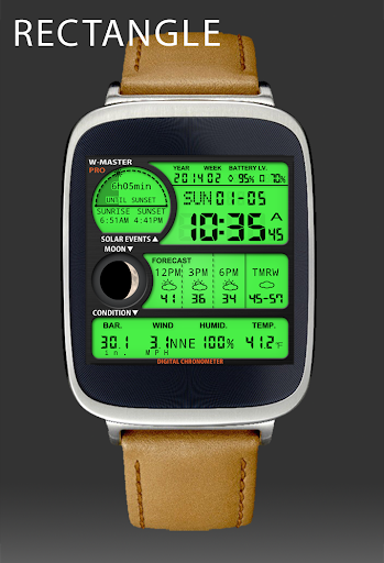 F04 WatchFace for Android Wear
