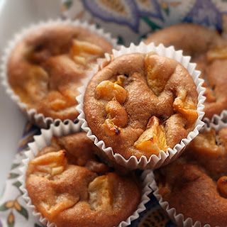 Gluten-Free Peach Muffins with Almond Flour