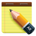 AK Notepad icon