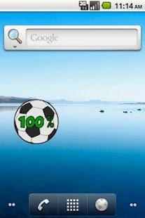 足球電池小工具