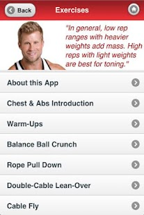 Muscle Building | Chest & Abs- screenshot thumbnail