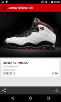 Screenshot of J23 - Jordan Release Dates