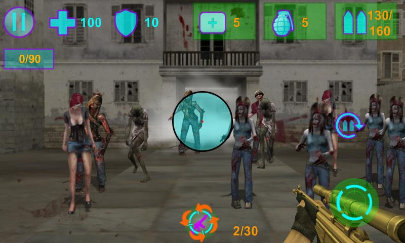 Zombie world Conquest FPS Game - screenshot