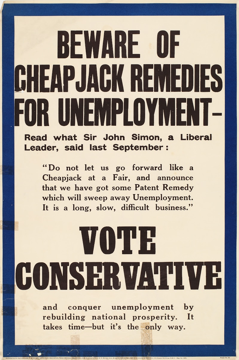 Vote Conservative and conquer unemployment by rebuilding