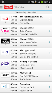 Freeview TV Guide - screenshot thumbnail