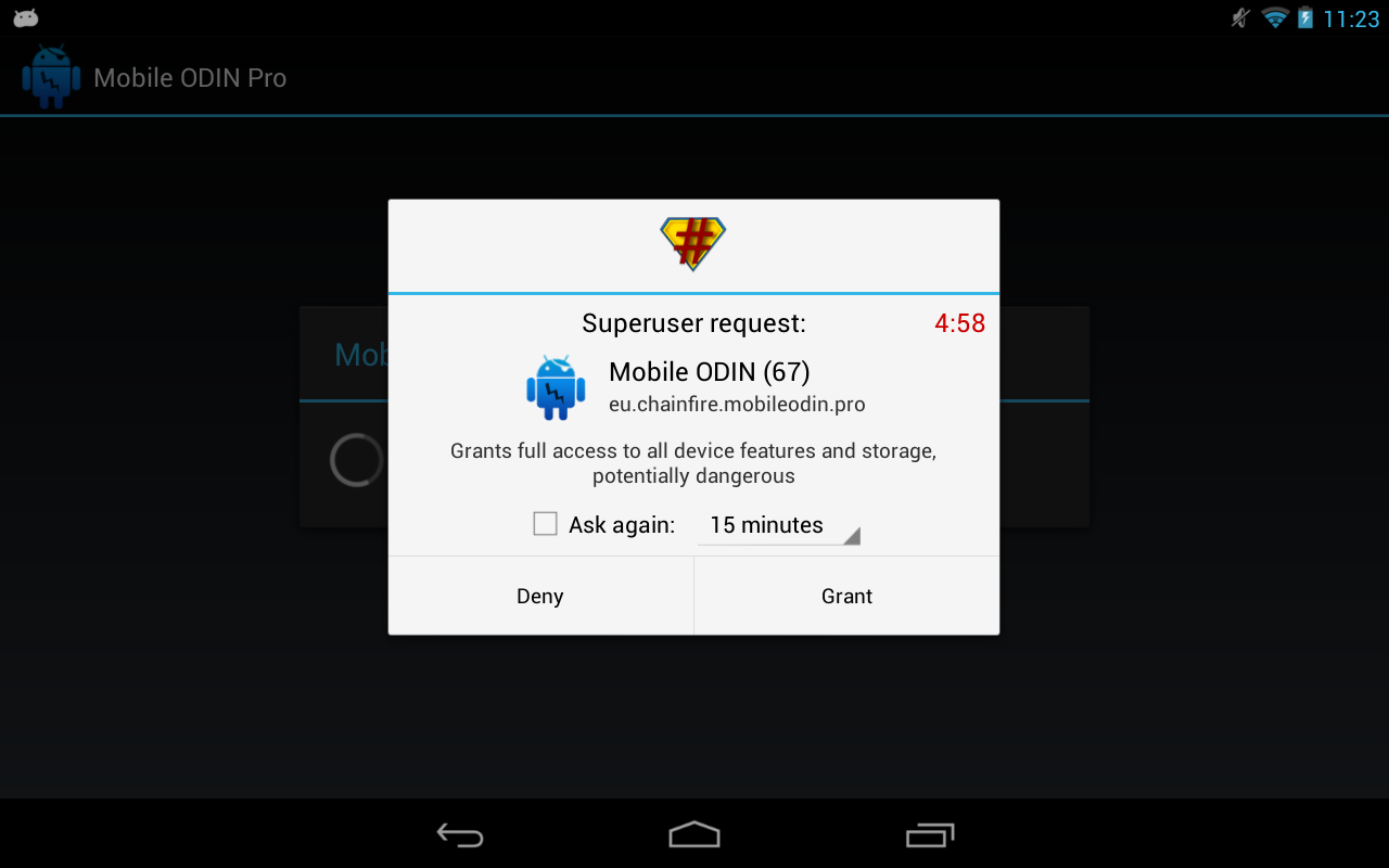 SuperSU Pro- screenshot