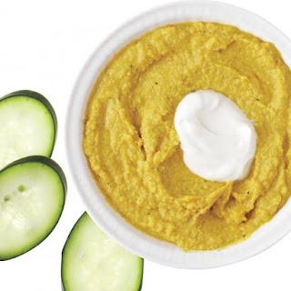 Curried Chickpea-Yogurt Dip
