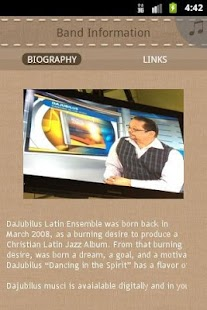 DaJubilus Latin Ensemble - screenshot thumbnail