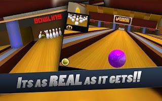 Screenshot of Pocket Bowling 3D