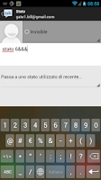 Screenshot of Italian Dict for KK Keyboard