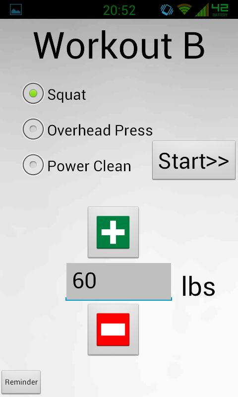 Starting Strength - screenshot