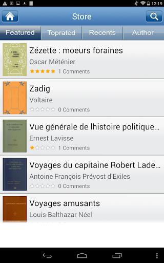 無料书籍AppのPopular French Books|記事Game