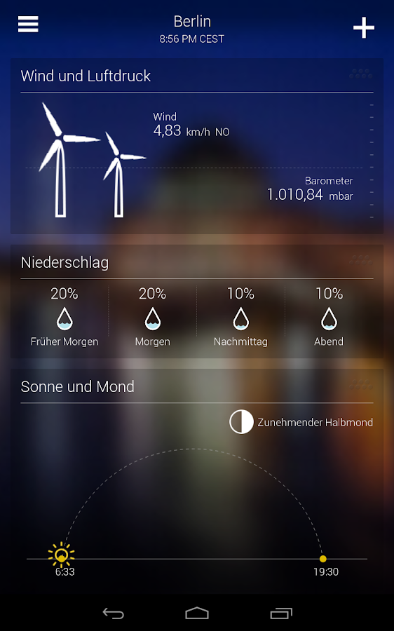 Wetter App Yahoo