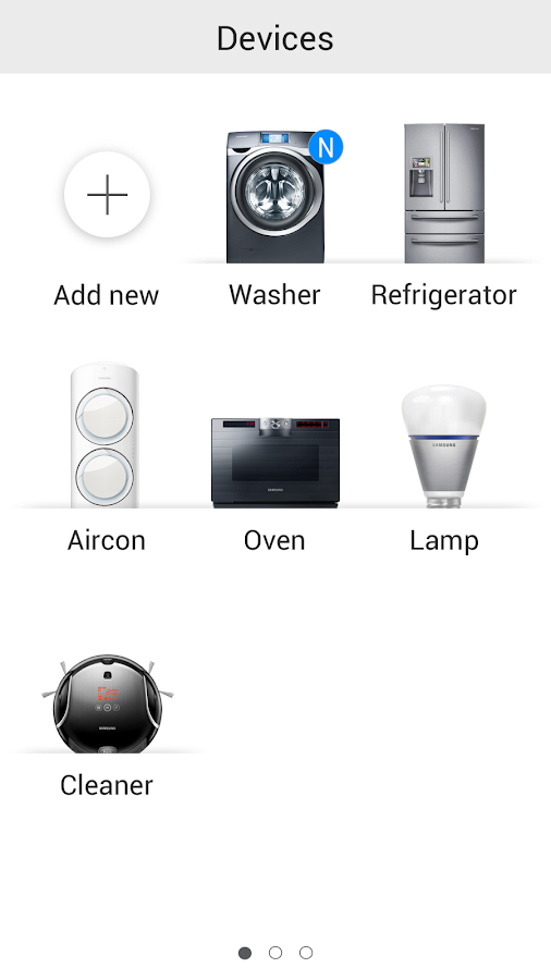 Samsung Smart Home - screenshot